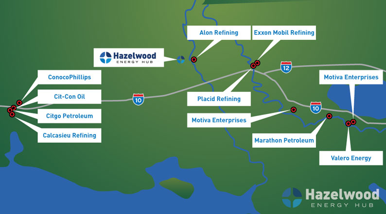 Gulf Coast Refineries